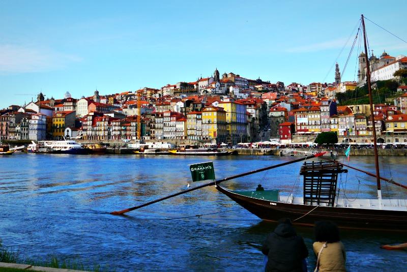 View of Porto on the douro