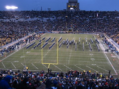Band of the Fighting Irish, Notre Dame Stadium, University of Notre Dame, South Bend, Indiana