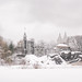 Central Park Winter- Belvedere Castle in the Snow - New York City by Vivienne Gucwa