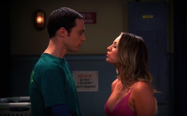 Sheldon y Penny ni en sueños
