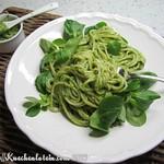 Pesto-Rezepte: ©Pasta mit Feldsalatpesto (2)