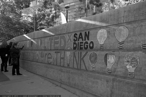 re:Think your artistic side   chalk mural   TEDxSanDiego 2013