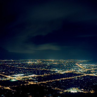 Townsville City at Night
