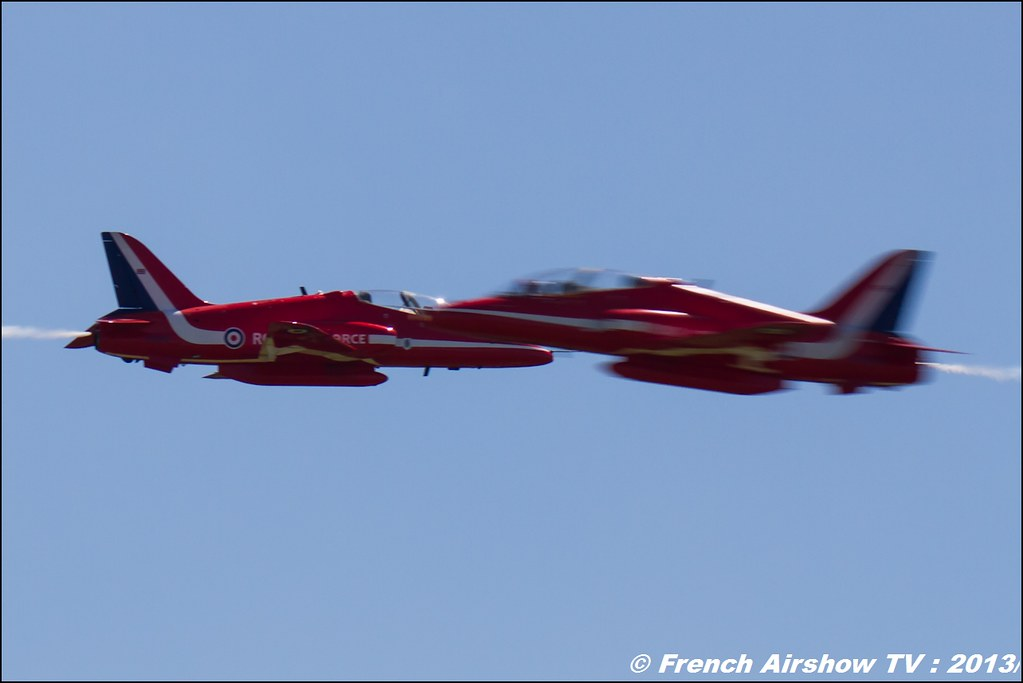 Red Arrows ,60 ans Patrouille de France , Meeting Aerien 2013