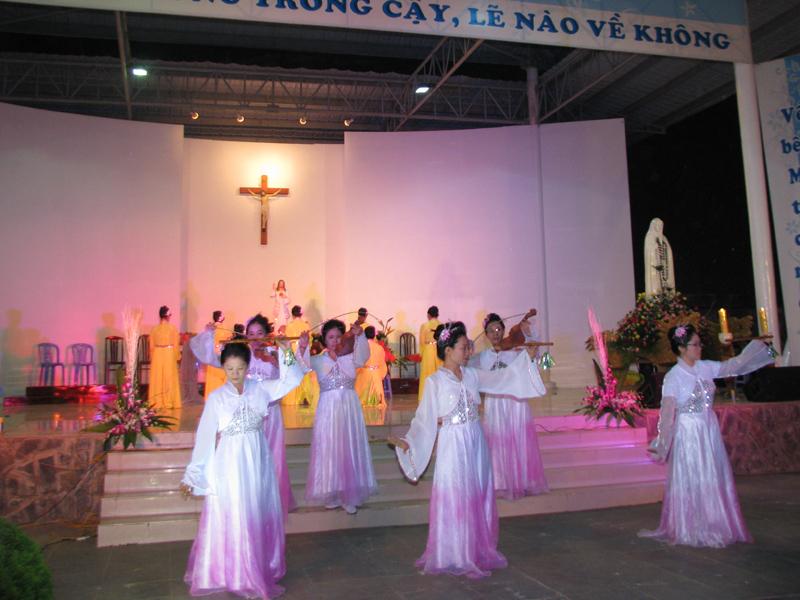 Thánh Lễ Mẹ Thiên Chúa tại trung tâm hành hương Mẹ Tà Pao. 111