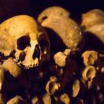 Catacomb skull