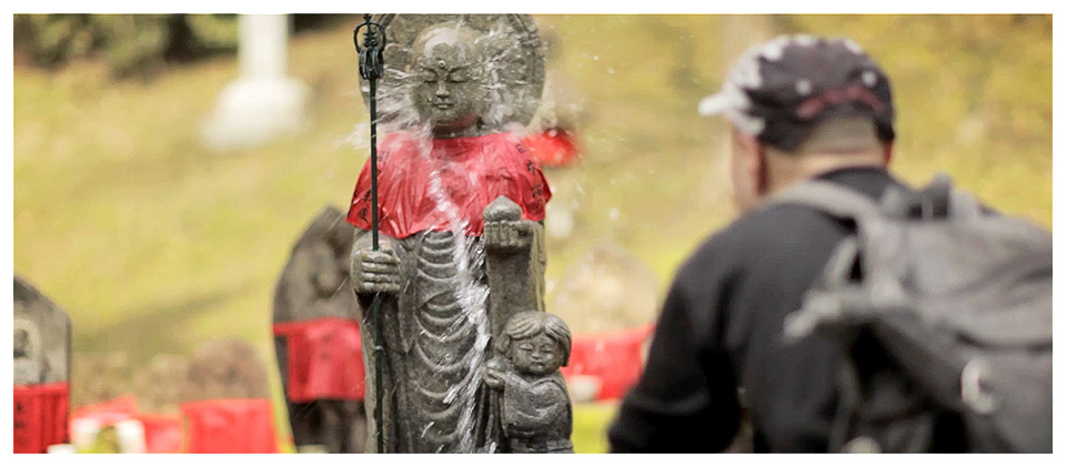 Religious Deed on a Buddha Statue, Nara – Japan
