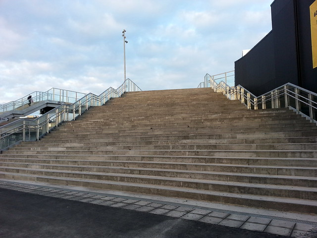Trondheim Train Station Stairs