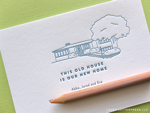 custom house illustration // house no. 52