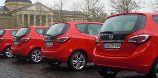 Start der Opel Meriva Roadshow