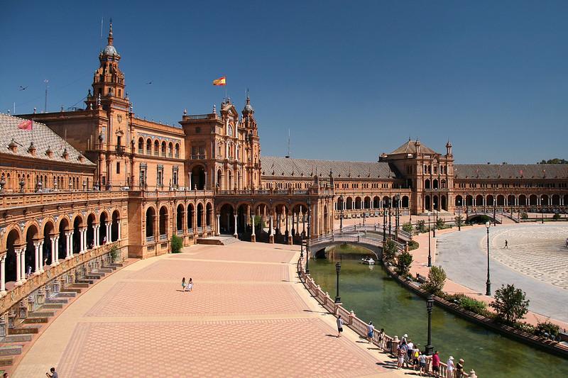 plaza de españa por Jorge Franganillo