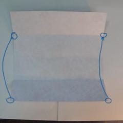 การพับกระดาษเป็นรูปหัวใจแบบ 3 มิติ 006