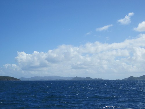 sailing to St. John