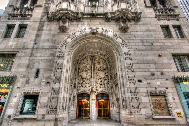 Chicago Tribune Entrance and Doors (2009)
