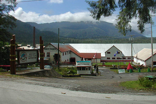 North Pacific Cannery, Prince Rupert, West Coast of Northern British Columbia, Canada