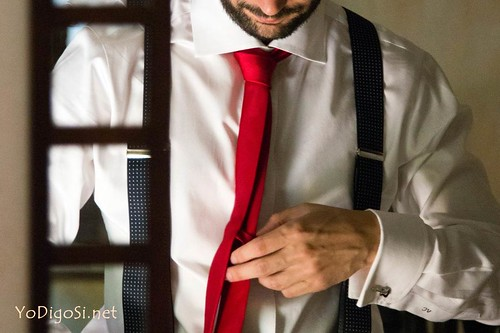 corbata novio informal