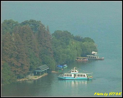 杭州 西湖 (其他景點) - 337 (從西湖十景之 雷峰塔上看 西湖的小瀛洲)