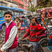Cycle rickshaws, New Delhi, India (1) by antonioVi (Antonio Vidigal)