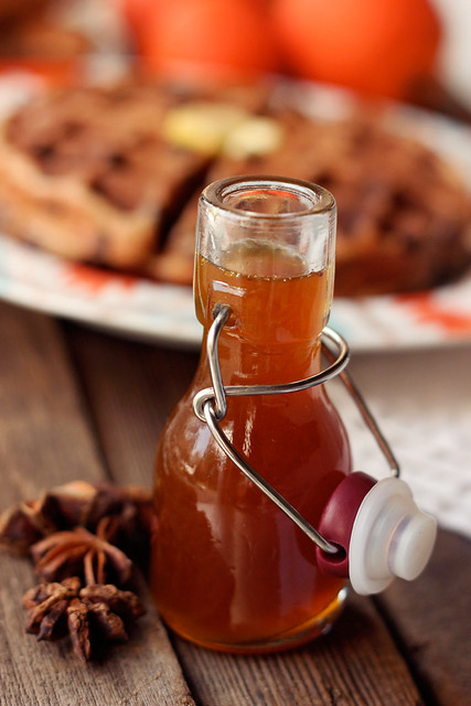 Orange Spice Maple Syrup