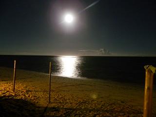 Image of Praia dos Pescadores near Porto Seguro. beach brasil bahia moonlight arraialdajuda