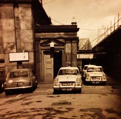 Inverness Constabulary 1969 (former Inverness Burgh Police vehicles) at Farraline Park Inverness
