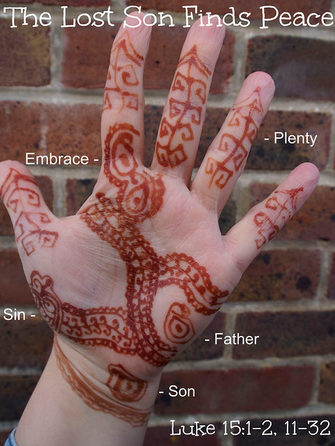 Henna Storying, Bible Story, henna, Prodigal Son