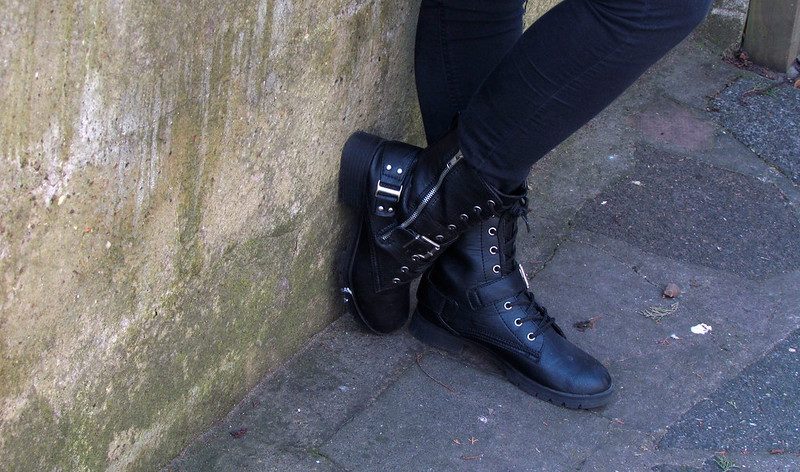 Shoe Zone Military Boots