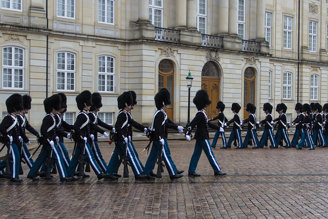 Changing of the Royal Guards - Copenhagen