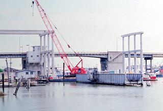 Clear Creek Bridges, Kemah, August 1984