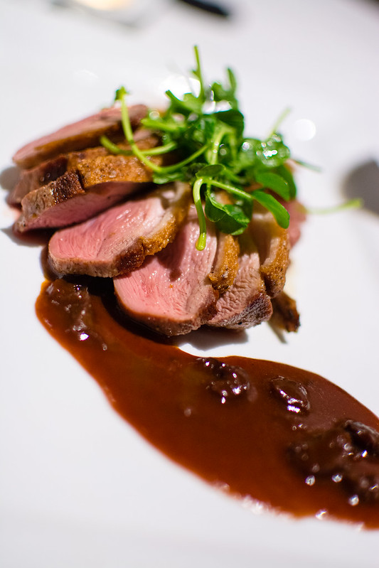 Duck Breast at The Crossing