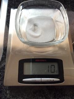 10 gram zout