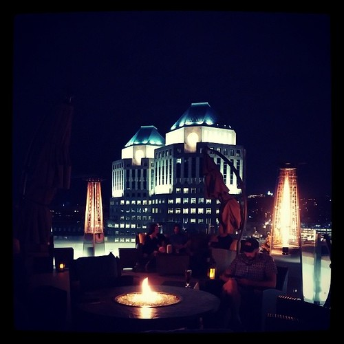 Top of the Park in downtown Cincinnati with @genmae5...