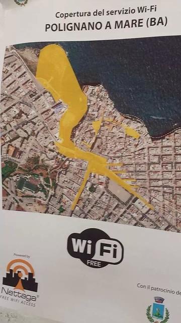 wifi gratis a polignano