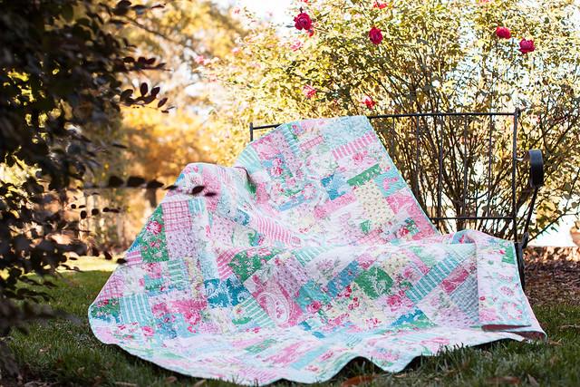 Rosewater by Verna Mosquera for Free Spirit Fabrics