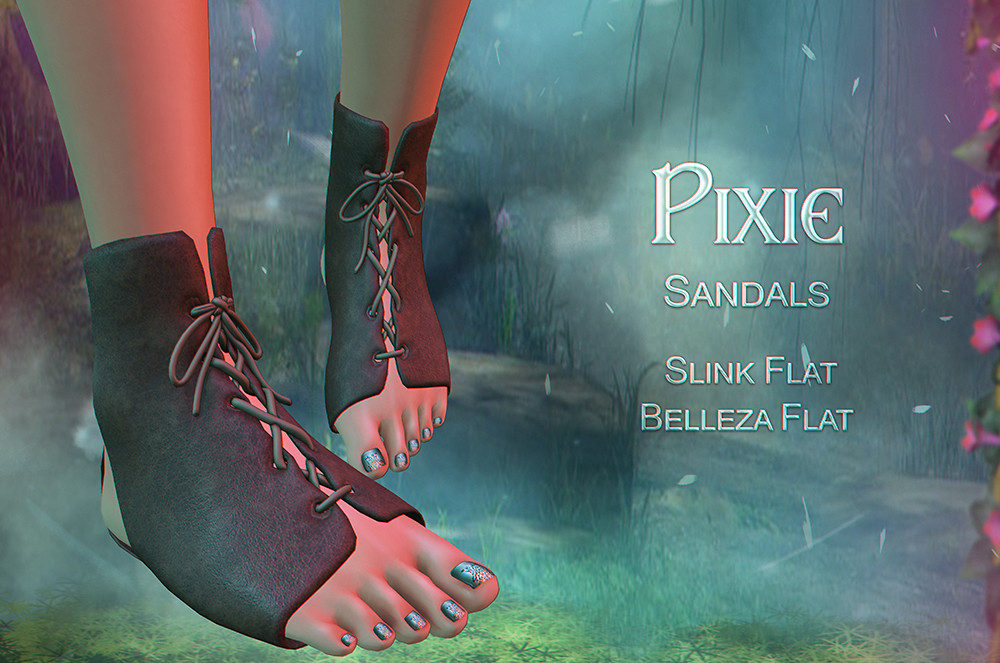 Pixie Sandals  @Totally Top Shelf - SecondLifeHub.com