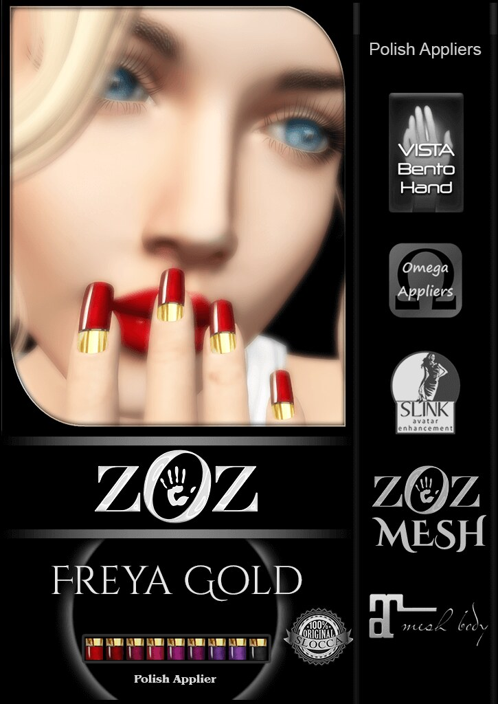 {ZOZ} Freya Gold pix L - SecondLifeHub.com