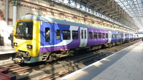 Class 323 227 'Northern Rail' Electric Multiple Unit on 'Dennis Basford's railsroadsrunways.blogspot.co.uk'