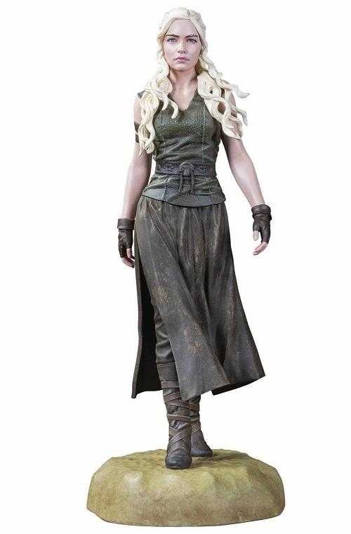 擁有最多稱號的女王!Dark Horse Comics 冰與火之歌系列【龍之母:丹妮莉絲.坦格利安】DAENERYS TARGARYEN 全身雕像