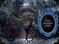 ImmateriA Poulpe Mask violet