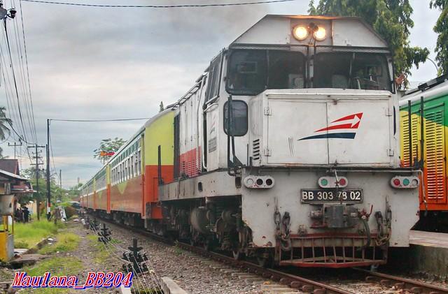 Sibinuang passenger train