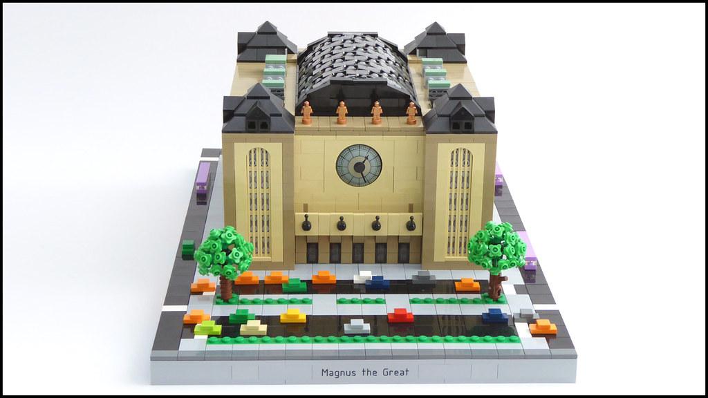 Central Station (custom built Lego model)