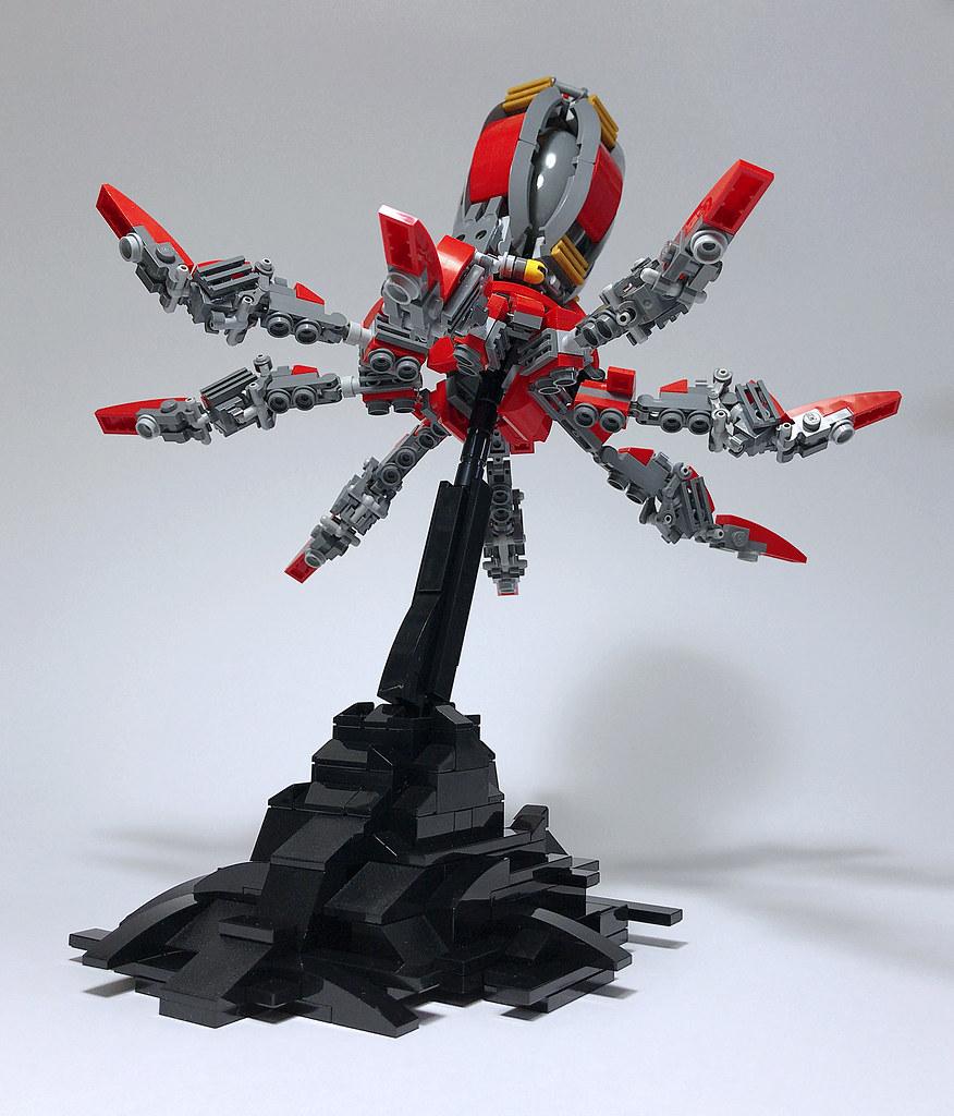 LEGO Mech Octopoda-04 (custom built Lego model)