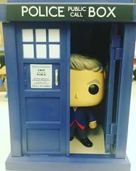TARDIS detected #DoctorWho #funkopop