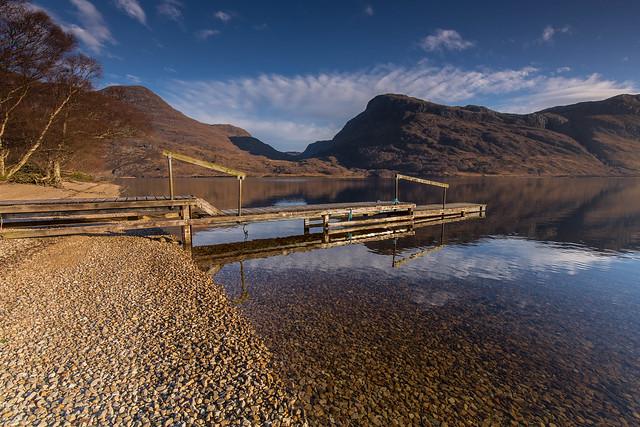 Loch Maree ..