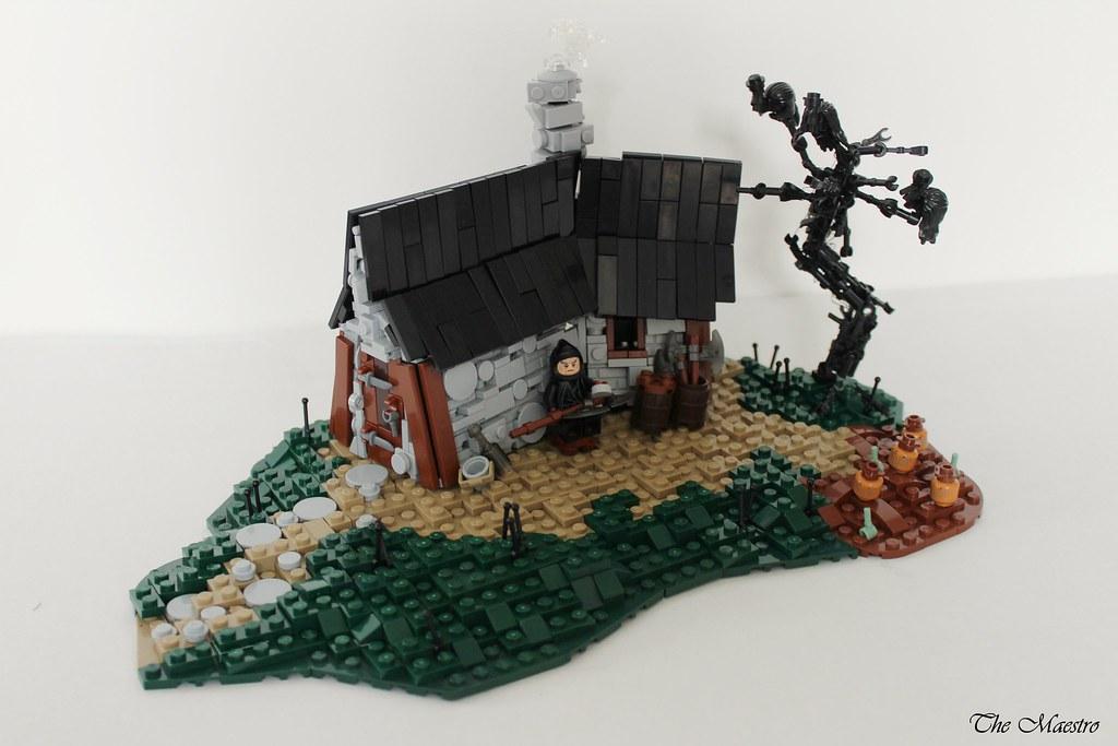 The Headsman's Hovel (custom built Lego model)