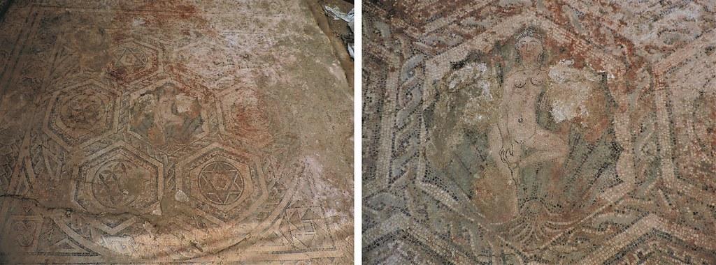 Mosaico romano da Rua Cais de Santarém©Neoépica, Lda.