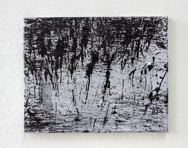Am See   Acryl auf Leinwand   30 x 24 cm   Berlin 2017