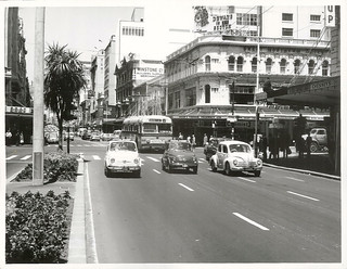 Fiats in Queen Street, Auckland