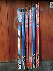 Závodní lyže pro obří slalom - starší norma R 21-2 - titulní fotka
