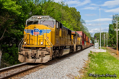 UP 4549 | EMD SD70M | NS Memphis District
